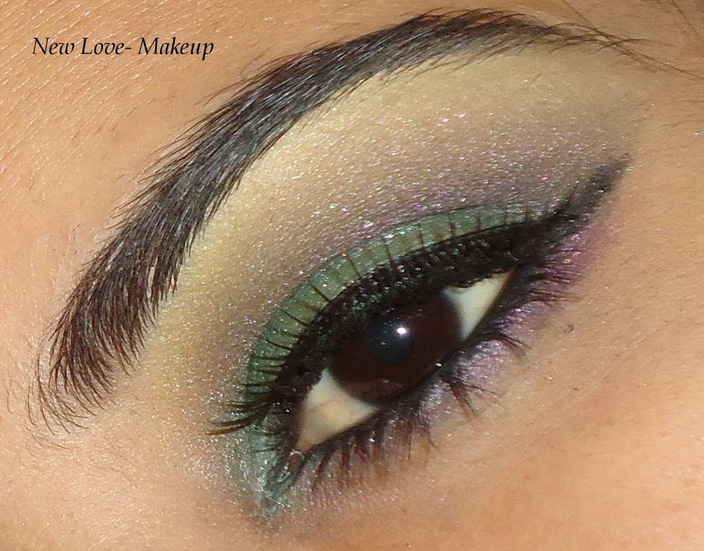 Loreal Electric Eye Contest Entry 8- Midnight Blue Ocean