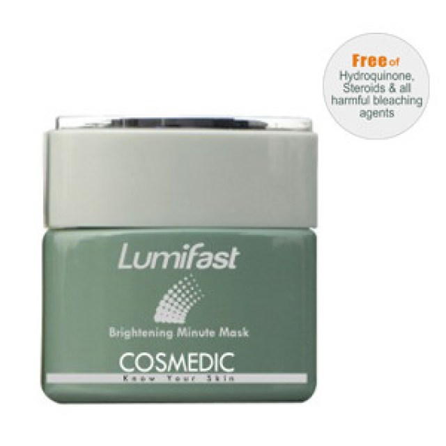 Cosmedic Lumifast Brightening Minute Mask Review