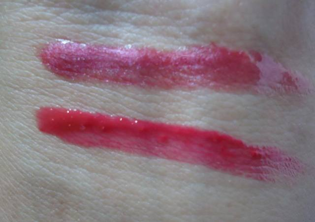Maybelline Colorsensational Lip Gloss Raspberry Sorbet Review, Swatches
