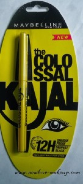 New Maybelline 12H Colossal Kajal Review