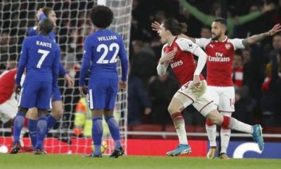 Bellerin strikes late for Arsenal in an exciting draw with Chelsea | New Mail Nigeria