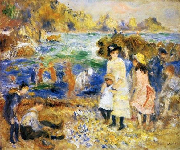 renoir-beach-scene-guernsey
