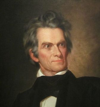 John C. Calhoun, National Portrait Gallery