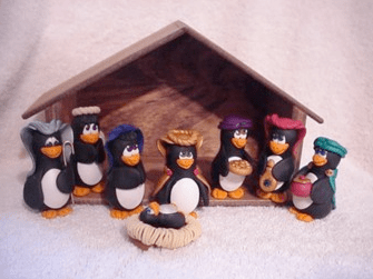 Nativity Penguins