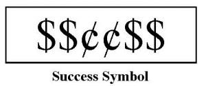 sucess symbolWd