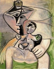 Pablo Picasso Mother and Child 1971