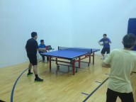 newport beach table tennis rally