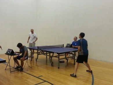 Newport Beach Table Tennis Club on Wednesdays