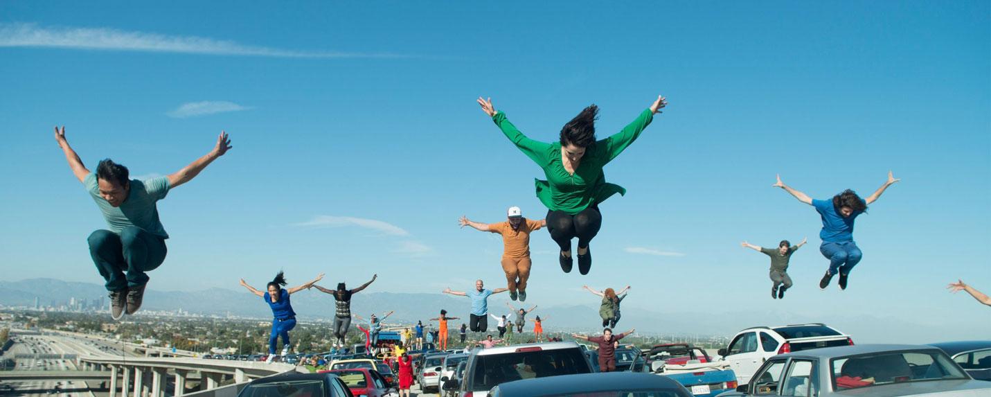 A coreografia da abertura de La La Land