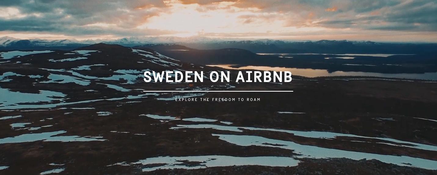 Sua casa de férias pode ser a Suécia inteira