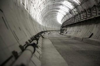 Essai Range Rover Evoque Cabriolet dans les tunnels de Londres