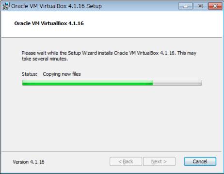 VirtualBox インストール06