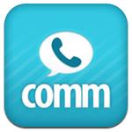 無料通話アプリ「comm」