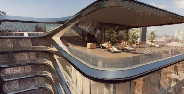 Zaha Hadid's NYC Penthouse