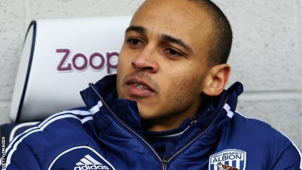 West Brom striker Peter Odemwingie