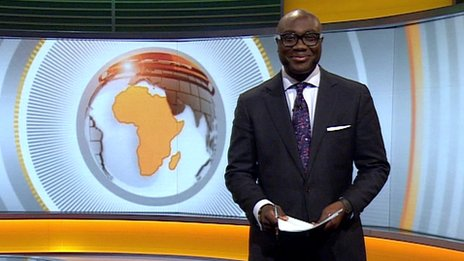 Komla Dumor presenting Focus on Africa 17/01/2014