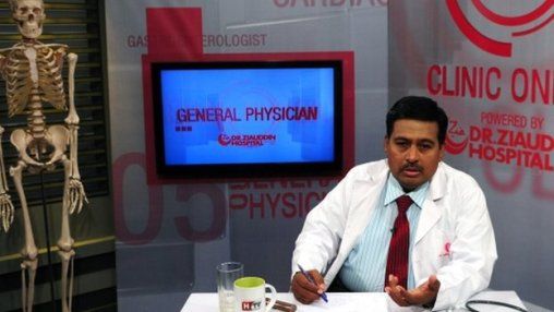 Dr Nadeem Siddiqui, the consultant who hosts the show, on 1 December 2014