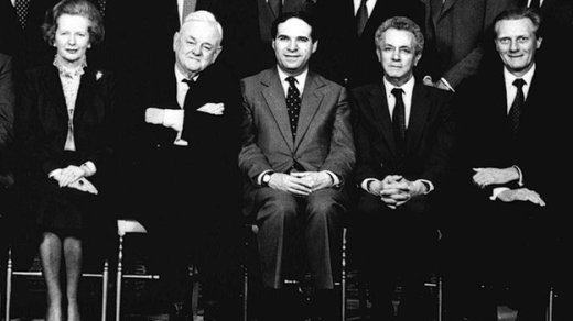 Margaret Thatcher's Cabinet in 1986