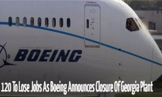 120 To Lose Jobs – Boeing