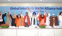 Launch of the Global Interfaith WASH Alliance in India  (Image credit: GIWA)