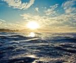 sun sea water
