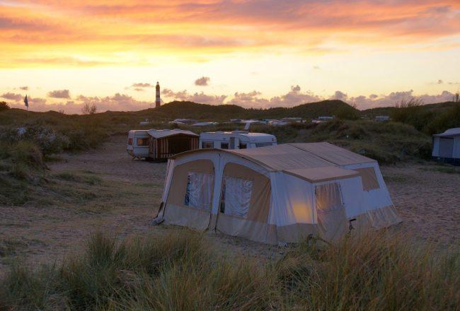 Campingplatz an der Ostsee