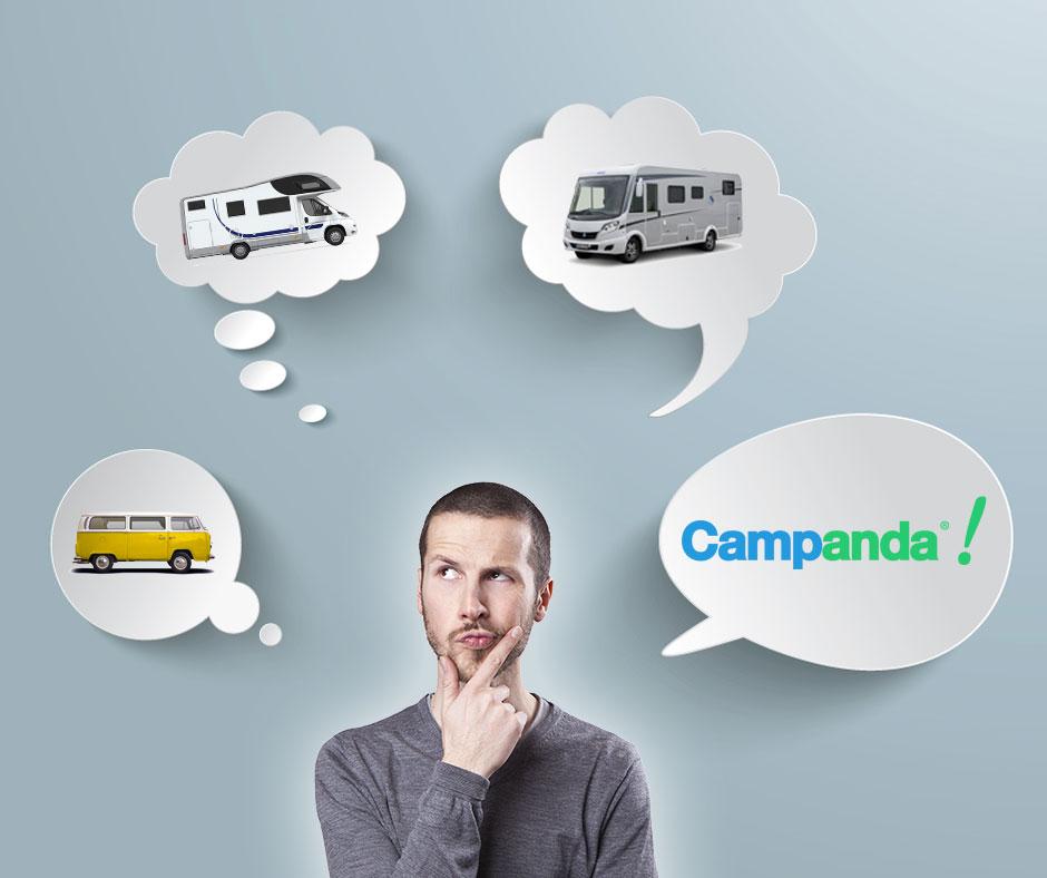 Wohnmobil privat vermieten mit Campanda