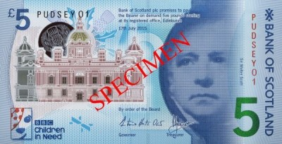 Scotland Announces Charity Auction of Exclusive New Polymer Notes | Coin Update