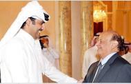 الي قطرالثلاثاء: الرئيس اليمني يلتقي الشيخ تميم في الدوحة