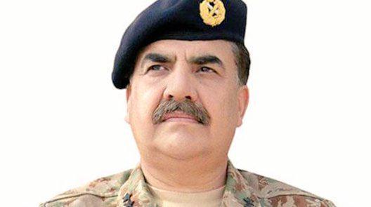 رئيس اركان الجيش الباكستاني