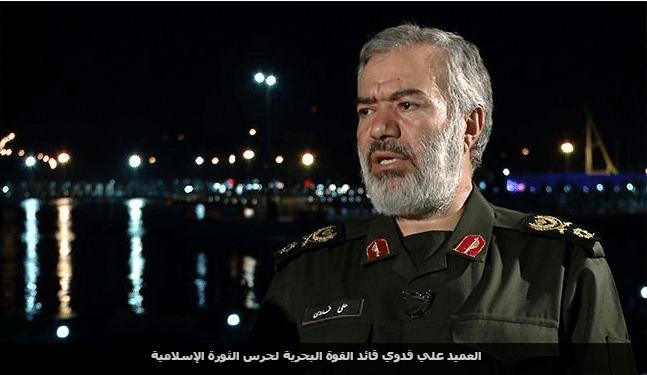 قائد القوات البحرية الايرانيه
