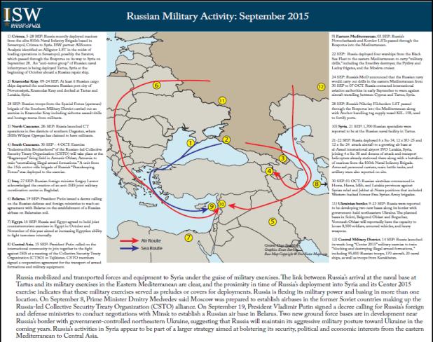 كيف نقلت روسيا جنودها الي سوريا