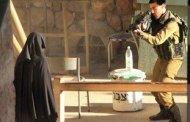 لحظة اطلاق النار على هديل الهشلمون شهيدة النقاب برصاص الاحتلال في الخليل