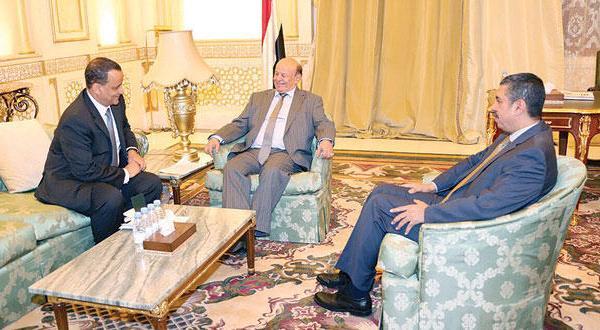 ولد الشيخ والرئيس اليمني