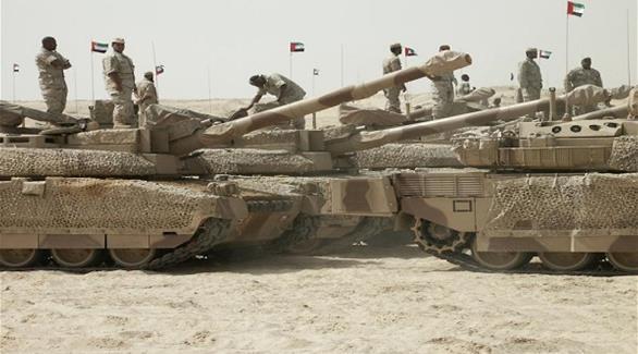 دبابات قوات التحالف في اليمن