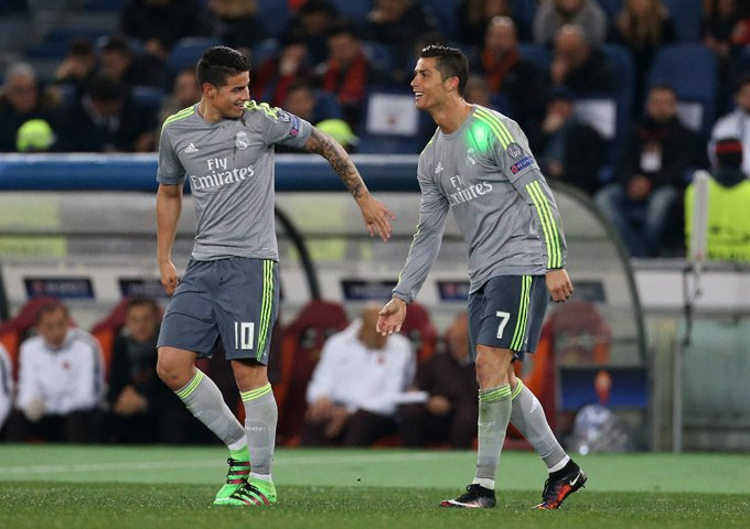 AS Roma v Real Madrid - UEFA Champions League Round of 16: First Leg