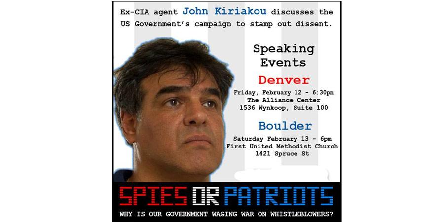 Spies or Patriots: John Kiriakou