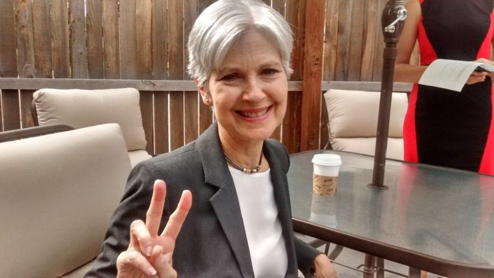 Greenpeace presidential candidate Dr. Jill Stein in Colorado