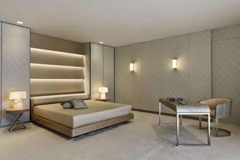 Armani Residences - Master Bedroom