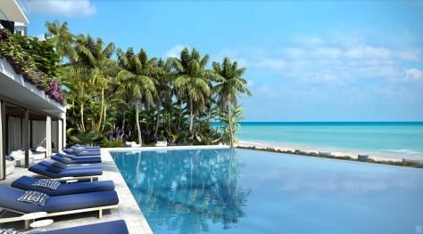LAtelier Miami Beach - Lower Pool Deck