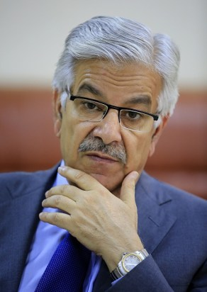Image result for Khawaja asif