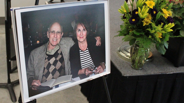 Photo of Marty and Vicki Olsen