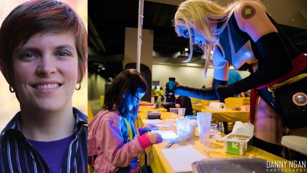 Shoreline Professor Torrey Stenmark Moonlights as Superhero to Inspire the Next Generation of STEM Students