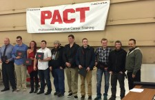 Shoreline Auto's Honda PACT program graduated 11 students on Nov. 18, 2015.
