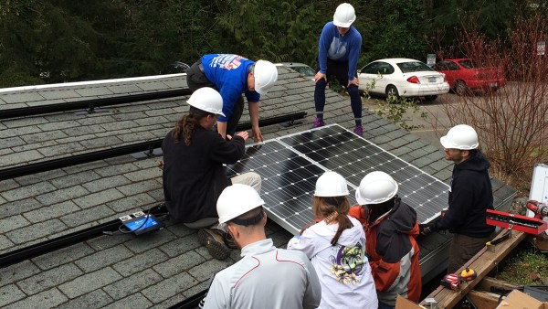 Shoreline Clean Energy Technology students go off-grid to generate power