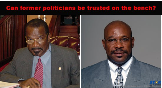 Can Former Politicians Be Trusted on the Bench?