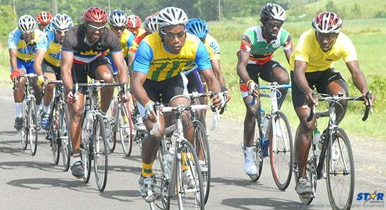 Five countries including St Lucia will compete in Sunday's OECS Cycling Championships.