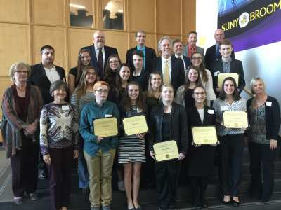 Future Leaders: SUNY Broome recognizes 2018 Presidential Honors Scholars | The Buzz