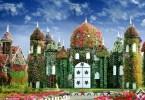 أكبر حديقة زهور في العالم دبي