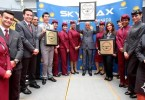 الخطوط الجوية القطرية تحصل على ثلاث جوائز سكاي تراكس كـ أفضل شرك